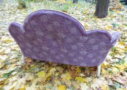 Старинный диван кутаный