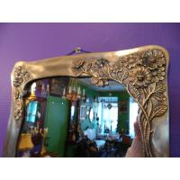 Зеркало в бронзовой раме