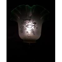 Антикварная лампа из оникса