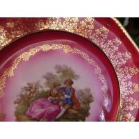 Декоративная редкая тарелка