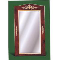 Зеркало настенное в карельской березе